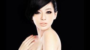 Свадебный макияж для брюнеток с карими глазами, макияж для азиатских глаз