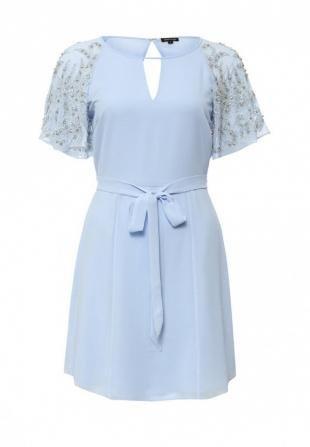 Голубые платья, платье river island, весна-лето 2016