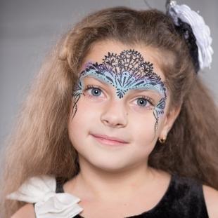Карнавальный макияж, аквагрим на детский праздник