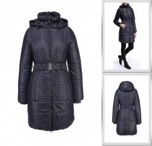 Синие куртки, куртка утепленная grishko, осень-зима 2015/2016