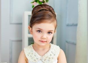 Цвет волос капучино на длинные волосы, прическа на выпускной в детском саду
