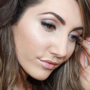 Макияж для круглых карих глаз, естественный дневной макияж