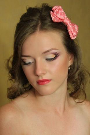Свадебный макияж с стразами, профессиональный макияж на день рождения