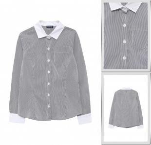 Серые блузки, блуза gulliver, осень-зима 2016/2017
