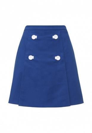Синие юбки, юбка boutique moschino, весна-лето 2016
