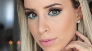 Макияж для блондинок с карими глазами, макияж на 8 марта для карих глаз