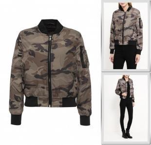 Хаки куртки, куртка qed london, осень-зима 2016/2017