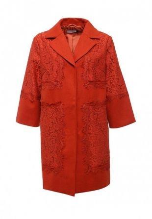 Оранжевые пальто, пальто lamania, весна-лето 2016