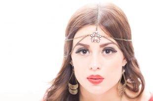 Восточный макияж, восточный макияж с накладными ресницами
