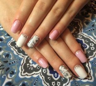 Рисунки на свадьбу на ногтях, весенний маникюр в пастельной гамме