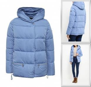 Голубые куртки, куртка утепленная grishko, осень-зима 2016/2017