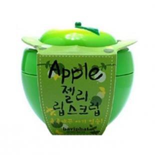 Скраб из сахара, baviphat apple jelly lip scrub (объем 6 г)