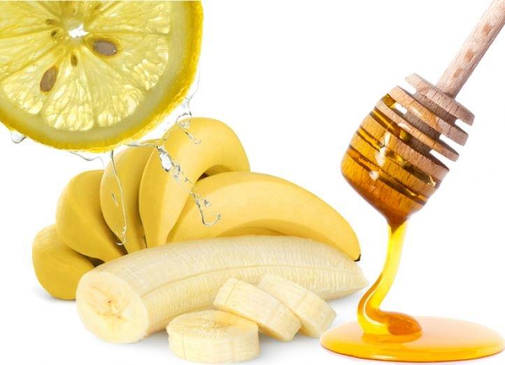 Маска из банана для увядающей кожи лица