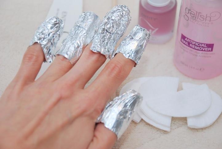 Снятие акриловых ногтей