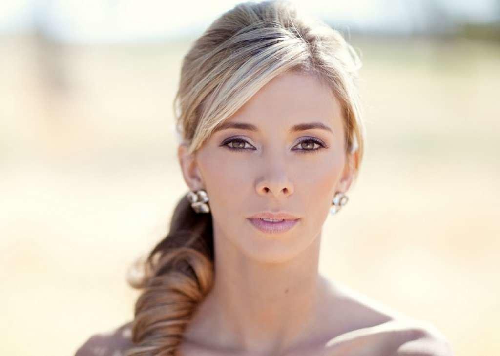 Свадебный макияж для блондинок с фото 81