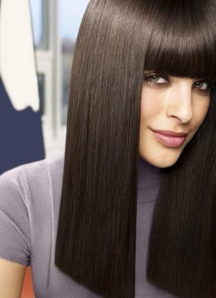 Перламутровый цвет волос на длинные волосы, холодный цвет волос