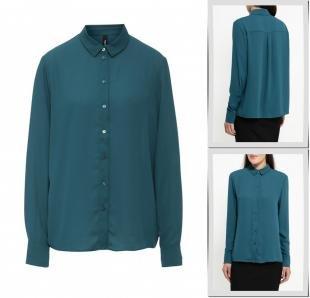 Зеленые блузки, блуза bestia, осень-зима 2016/2017