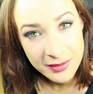 Макияж для опущенных уголков глаз, повседневный макияж для светло-зеленых глаз
