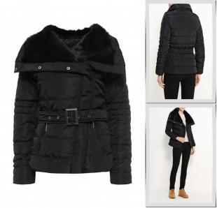 Черные куртки, куртка утепленная emoi, осень-зима 2016/2017