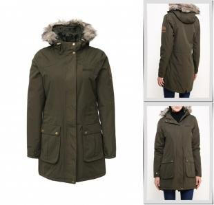 Хаки куртки, куртка утепленная regatta, осень-зима 2016/2017