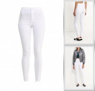 Белые джинсы, джинсы topshop, осень-зима 2016/2017