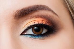 Легкий макияж на хэллоуин, красивый макияж на каждый день для карих глаз