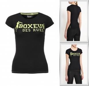 Черные футболки, футболка boxeur des rues, весна-лето 2016