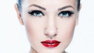 Макияж для увеличения глаз, вечерний макияж для шатенок