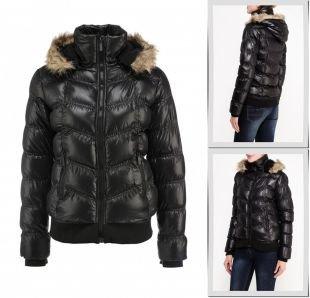 Серебряные куртки, куртка утепленная emoi, осень-зима 2015/2016