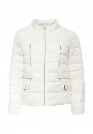 Белые куртки, куртка утепленная clasna, весна-лето 2016