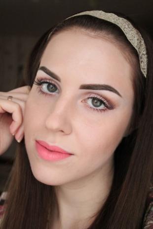 Макияж для бледной кожи, милый макияж для серых глаз