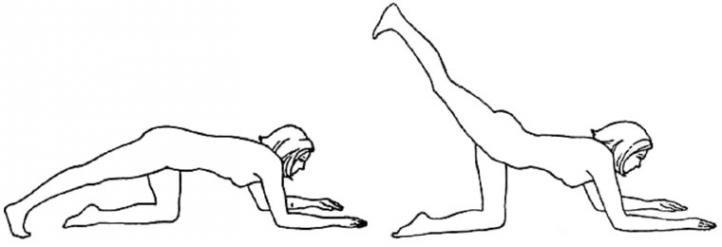 Ласточка - базовый комплекс упражнений Бодифлекс