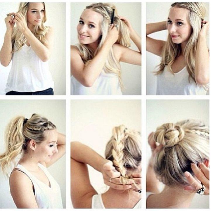 Прически на длинные волосы: 59 фото пошагово, видео - Wday 96